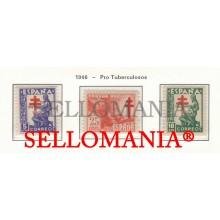 1946 PRO TUBERCULOSOS TUBERCULOSIS TUBERCULEUX EAGLE 1008 / 10 MNH ** TC23471 FR