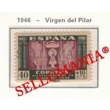 1946 VIRGEN DEL PILAR VIERGE DU PILAR VIRGIN OF THE PILLAR 998 MNH ** TC23475 FR