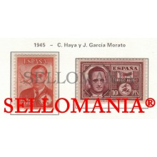1945 CARLOS HAYA & JOAQUIN GARCIA MORATO AVION PLANE 991 / 992 MNH ** TC23477 FR