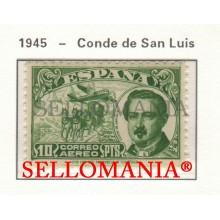 1945 CONDE DE SAN LUIS AVION PLANE AVIATION AVIACION  990 MNH ** TC23478 FR