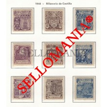 1944 MILENARIO DE CASTILLA MILLENNIAL MILENAIRE  974 / 982 MNH ** TC23485 FR