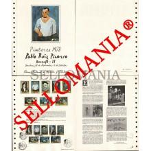 1978 PABLO RUIZ PICASSO PAINTER PAINT PEINTURE BARNAFIL DOCUMENTO 6 TC23571 FR