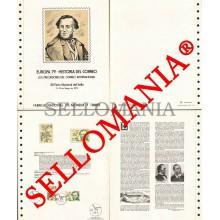 1979 EUROPA EUROPE COURRIER POST MAIL CORREOS DOCUMENTO 7 TC23572 FR