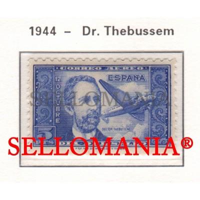 1944 DR THEBUSSEM MARIANO PARDO DE FIGUEROA PLANE AVION 983 ** MNH TC23484