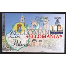 2017 LAS PALMAS 12 MESES 12 SELLOS 12 MONTHS 12 STAMPS CANARIAS EDIFIL 5110 FDC SPD CANARY ISLANDS TC20375