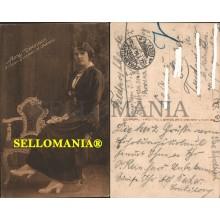 POSTKARTE DEUTSCHLAND ANNY VIOLINISTIN 1916 SALON QUINTETTS BEHRENDS GERMANY ALEMANIA  CC05731 DE