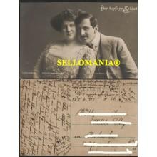 POSTKARTE DEUTSCHLAND 1911 MARIE OTTMANN & GUSTAV MATZNER THEATER GERMANY ALEMANIA  CC05744 DE