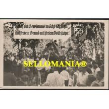 POSTKARTE DEUTSCHLAND JAHRE 1950 KARNEVAL PARTEIEN FEIER CARNAVAL FIESTAS CC05778 DE
