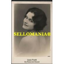 POSTKARTE DEUTSCHLAND JAHRE 1930 LIANE FRANK SCHAUSPIELERIN THEATER  CC05782 DE