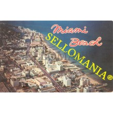 POSTCARD USA MIAMI BEACH AIRVIEW FROM 15th STREET NORTH FLORIDA  CC04972 USA