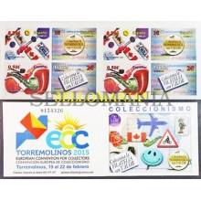 2015 COLECCIONISMO ECC TORREMOLINOS EDIFIL 4943C ** MNH CARNE BOOKLET    TC20476