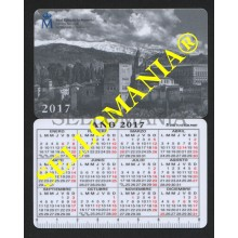 TARJETA CALENDARIO 2017 PUBLICIDAD FNMT ADVERTISING CALENDAR TC23685 MAX