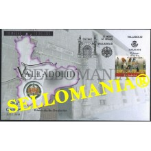 2018 VALLADOLID 12 MONTHS 12 STAMPS LIBROS BOOKS 5192 SPD FDC TC23694