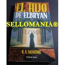 EL HIJO DE ELBRYAN  LAS GUERRAS DEMONIACAS  R. A. SALVATORE 2003 TC23750 A6C3