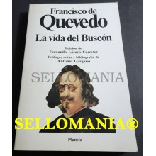 LA VIDA DEL BUSCON FRANCISCO DE QUEVEDO LAZARO CARRETER PLANETA  TC23756 A6C3