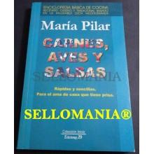 CARNES AVES Y SALSAS MARIA PILAR 2003 COCINA DIETA MEDITERRANEA TC23838 A5C1