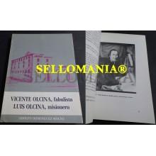 VICENTE OLCINA FABULISTA LUIS OLCINA MISIONERO DOMINGUEZ MOLTO 1984 TC23845 A5C1