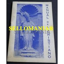 MANUAL DEL  CRISTIANO PARROQUIA SAN NICOLAS ALICANTE 1979 TC23847 A5C1