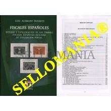 CATALOGO EDIFIL ESPECIALIZADO FISCALES ESPAÑOLES EDIFIL LUIS ALEMANY TC23895