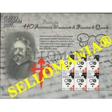 2020 FRANCISCO DE QUEVEDO PLIEGO PREMIUM WRITERS ECRIVANS ** MNH  TC23876