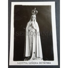 OLD BLESSED OUR LADY OF FATIMA HOLY CARD ANDACHTSBILD SANTINI SANTINO     CC2081