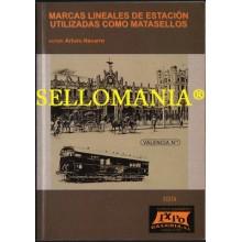MARCAS LINEALES DE ESTACION UTILIZADAS COMO MATASELLOS ARTURO NAVARRO    TC20969