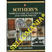SOTHEBY'S WORD GUIDE TO ANTIQUES AND THEIR PRICES 1987 CATALOGO SUBASTAS PRECIOS