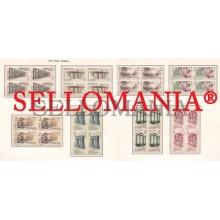 1974 ROMA HISMANIA ROME AQUEDUCT BRIDGE THEATRE  2184/ 91 ** MNH B4 TC21607