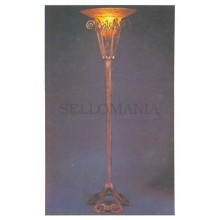ANTIGUA POSTAL ART DECO LES ALGUES (ALGAE) LAMP POSTCARD POSTKARTE    TC10882