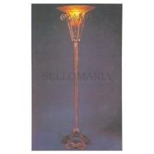 ANTIGUA POSTAL ART DECO LES ALGUES (ALGAE) LAMP POSTCARD POSTKARTE    TC10882