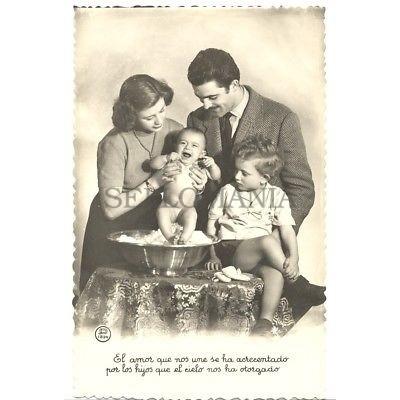 ANTIGUA POSTAL FOTOGRAFICA PRESENTACION FAMILIAR PHOTOGRAPHIC POSTCARD   TC10888