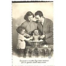 ANTIGUA POSTAL FOTOGRAFICA PRESENTACION FAMILIAR PHOTOGRAPHIC POSTCARD   TC10892