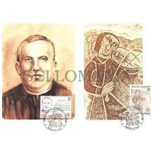 TARJETA MAXIMA ANDORRA 85 ENRIC MARFANY JUGLAR EDIFIL 184/5 MAXIMUM CARD TC10607