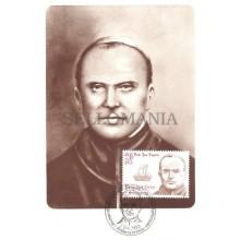 TARJETA MAXIMA ANDORRA 1983 OBISPO JOAN LAGUARDA EDIFIL 175 MAXIMUM CARD TC10608