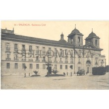 ANTIGUA POSTAL VALENCIA GOBIERNO CIVIL GOVERNMENT OLD POSTCARD           TC11438