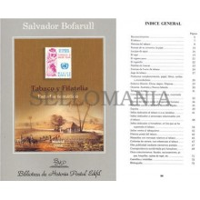 TABACO Y FILATELIA  BIBLIOTECA DE HISTORIA POSTAL EDIFIL Nº 8  SALVADOR BOFARULL