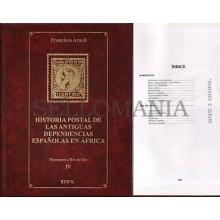HISTORIA POSTAL EX COLONIAS ESPAÑOLAS EN AFRICA  TOMO IV  MARRUECOS Y RIO DE ORO