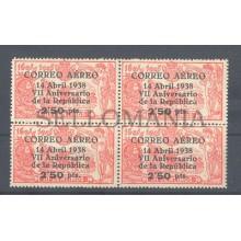 1938 VII ANIVERSARIO DE LA REPUBLICA EDIFIL 756 ** MNH CIVIL WAR SPAIN   TC12102