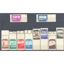 1938 MARRUECOS PAISAJES SIN DENTAR EDIFIL 186/95s ** MNH LANDSCAPES      TC12105