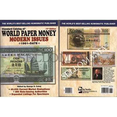 WORLD PAPER MONEY STANDARD CATALOG 1961 - 2005 KRAUSE   CATALOGO MUNDIAL MONEDAS