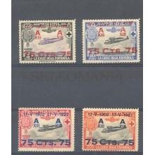 1927 XXV ANIVERSARIO JURA CONSTITUCION ALFONSO XIII EDIFIL 388/91 ** MNH TC10078