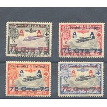 1927 XXV ANIVERSARIO JURA CONSTITUCION ALFONSO XIII EDIFIL 388/91 * MH   TC11015