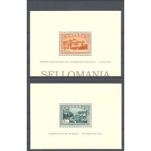 1937 I ANIVERSARIO ALZAMIENTO NACIONAL HOJITA EDIFIL 836/37 ** MNH SHEET TC11066