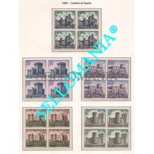 1969 CASTILLOS TUREGANO VILLALONSO TORRELOBATON  1927 / 31 ** MNH B4   TC21676