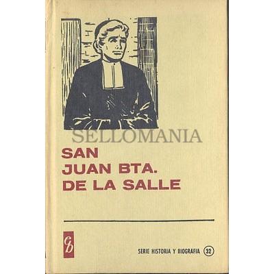 SAN JUAN BAUTISTA DE LA SALLE EDITORIAL BRUGUERA 1967   TC12024 A6C1