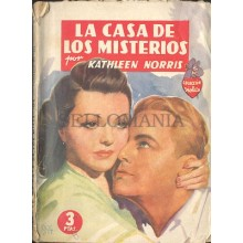LA CASA DE LOS MISTERIOS KATLHEEN NORRIS EDITORIAL MOLINO 1944      TC12003 A6C1