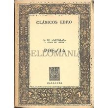 POESIA MARQUES DE SANTILLANA Y JUAN DE MENA CLASICOS EBRO 1969      TC11979 A6C2