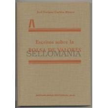 ESCRITOS SOBRE LA BOLSA DE VALORES JOSE ENRIQUE CACHON BLANCO 1990  TC11316 A6C2