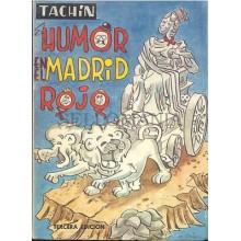 HUMOR EN EL MADRID ROJO TACHIN EDITORIAL PRENSA ESPAÑOLA 1971       TC11985 A6C2