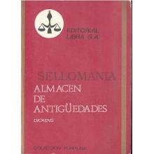 ALMACEN DE ANTIGUEDADES DICKENS COLECCION PURPURA 45 LIBRA 1970     TC12010 A6C2